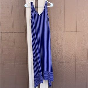 Gap Striped Maxi Dress with pockets